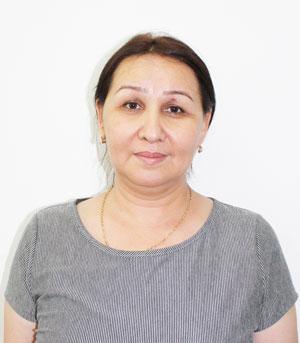Нуриддинова Нигора Наимҷановна